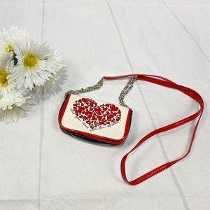 Brighton Heart Love Themed Miniature Crossbody Bag